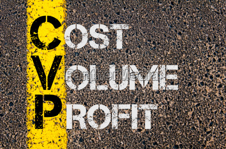 business acronym cvp as cost volume