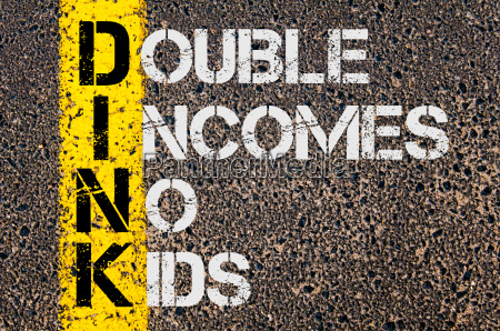 business acronym dink as double incomes