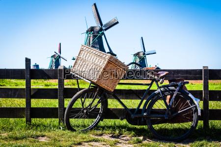 la bicicletta in olanda