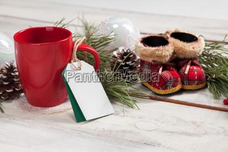 luna tazza di caffe sul tavolo