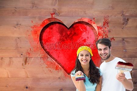 immagine, composita, di, giovani, coppie, felici - 15314021