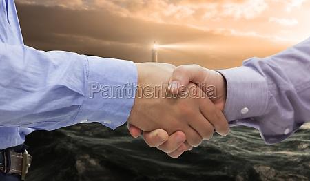 mano mani stretta di mano saluti