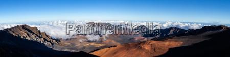 vertice cratere vulcano