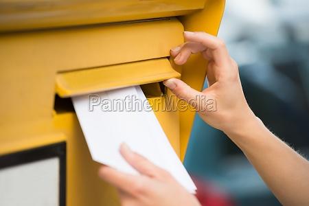 casella di posta mappa lettera scatola