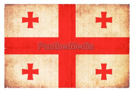 bandiera georgia stile vecchio