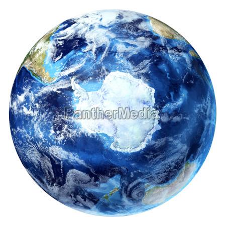 globo terrestre la rappresentazione realistica della
