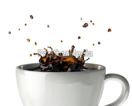 caffe ristorante bicchiere te tea oggetto