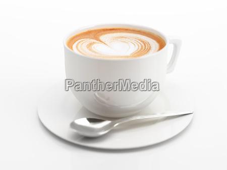caffe bicchiere bere arte rilasciato primo