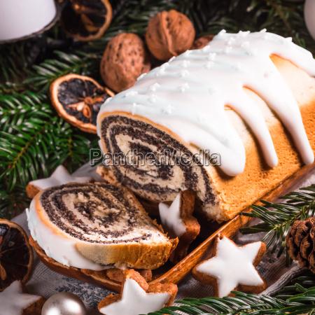 cibo biscotto papavero torta torte infornare