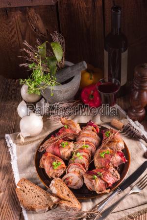 filetto di maiale ripieno