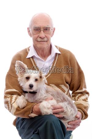 nonno ritratto adulto maglione adulti vecchio