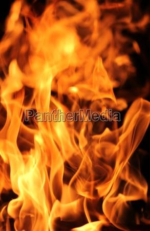 notte fuoco incendio fiamma fiamme brillare