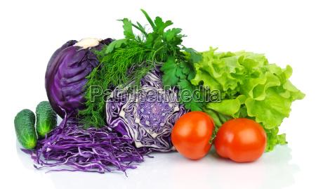 vitamine cetriolo verdura cavolo lattuga organico