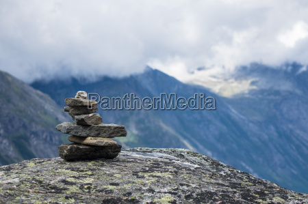 montagne della norvegia