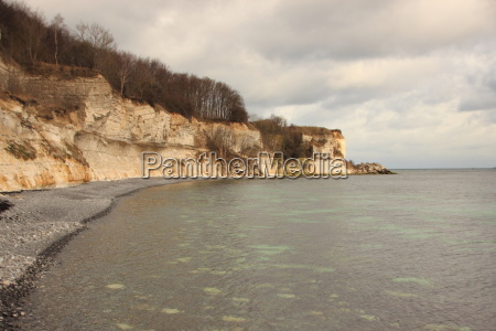attrazione riflesso rocce roccia danimarca acqua