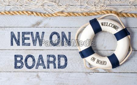 nuovo on board benvenuto