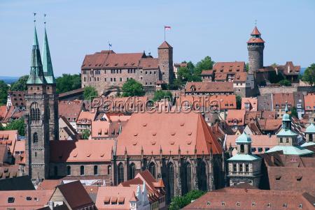 norimberga nuernberg castello di norimberga sebalduskirche