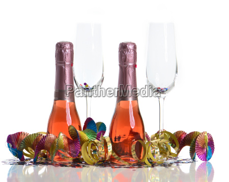 bevande bicchieri spumante capodanno vetraio orpello