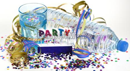partito festeggiare senza alcool