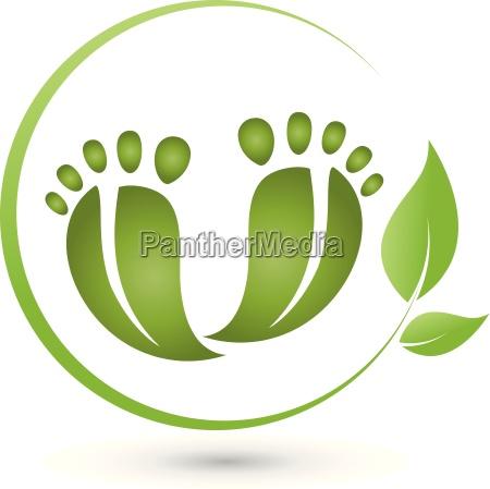 due piedi e le foglieil logola