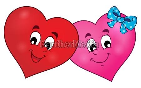 astratto cuori estendersi astrazione amare amore