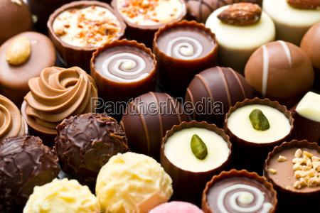 praline di cioccolato varieta