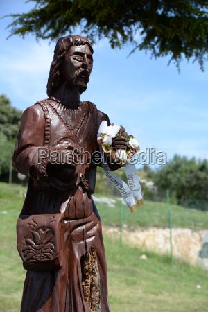 religione monumento plastica croazia cristiano cristo