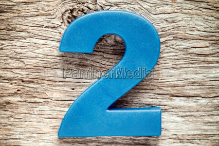 blue number two
