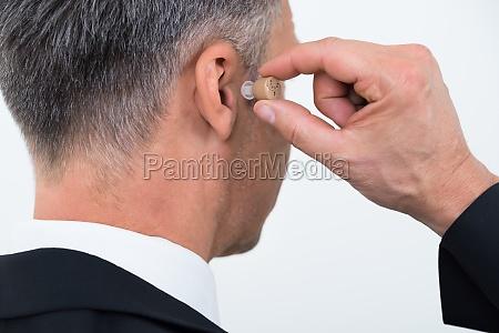 orecchio sordo udito percepire invalidita