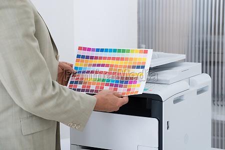 ufficio cartuccia stampante possesso tipografo carta