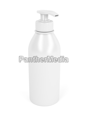 liquido bottiglia plastica sapone insaponare distributore