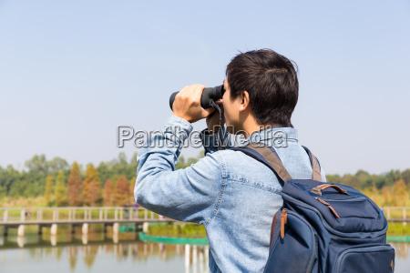 tipo albero uccello asia virile mascolino