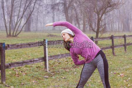 fitness sportivo donna outdoor attivita