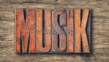 musica legno lettere parola tipografia musicista