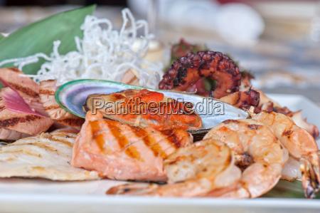 ristorante cibo salute primo piano verde