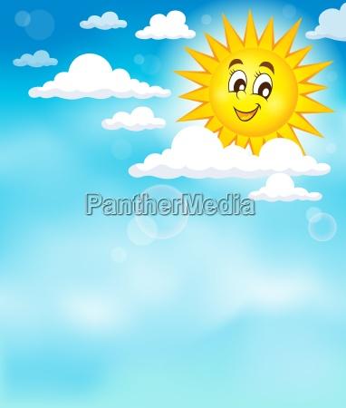 nuvola luce del sole nuvole luce