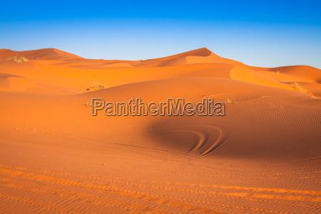 dune di sabbia nel deserto del