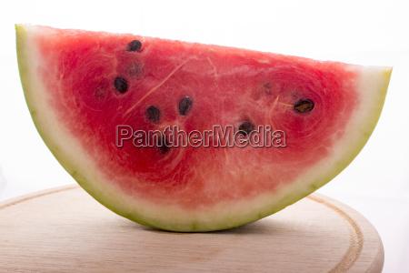 frutta anguria rosso fresco