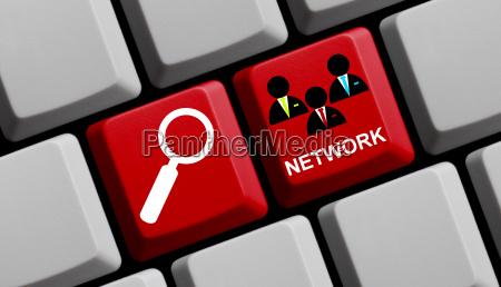 cerca nel social network