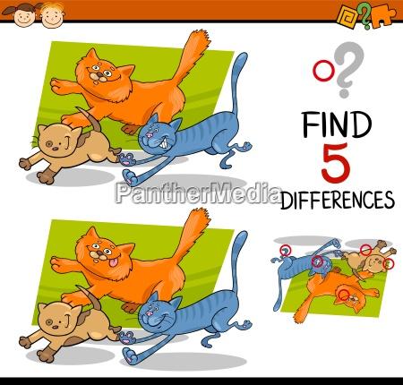 compito di differenze educative