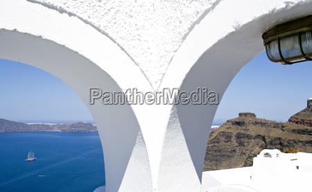 grecia greco isole arcipelago isola bianco