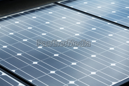 solar panel cell texture close up