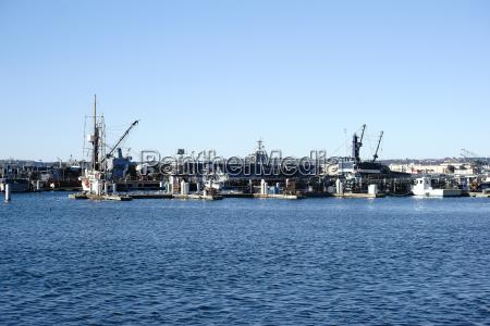 industria porto california trasporto ponte costa