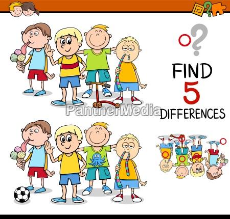 trovare lattivita differenze