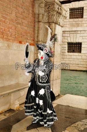colorato festeggiare festeggia nero venezia carnevale