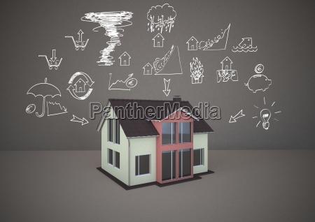 casa costruzione pericolo case colore progettazione