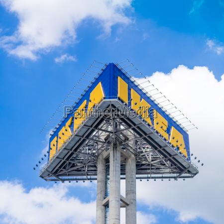 blu casa costruzione con successo di