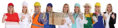 occupazioni formazione professionale di successo donna