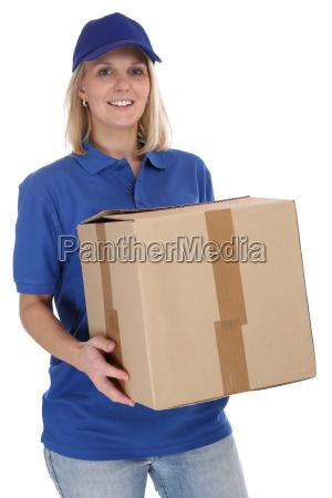 pacco spedizione postman mrs post consegna