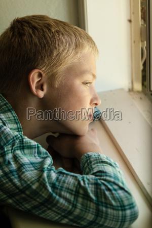 blu interno finestra virile mascolino faccia